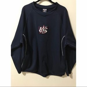 US Thermabase navy long sleeve sweater